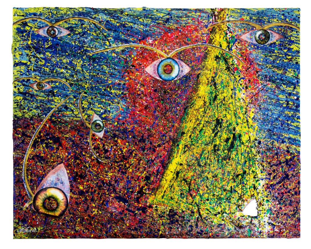 嫉妒 - 当代艺术家 凯撒·卡塔尼亚 的 当代艺术 画作