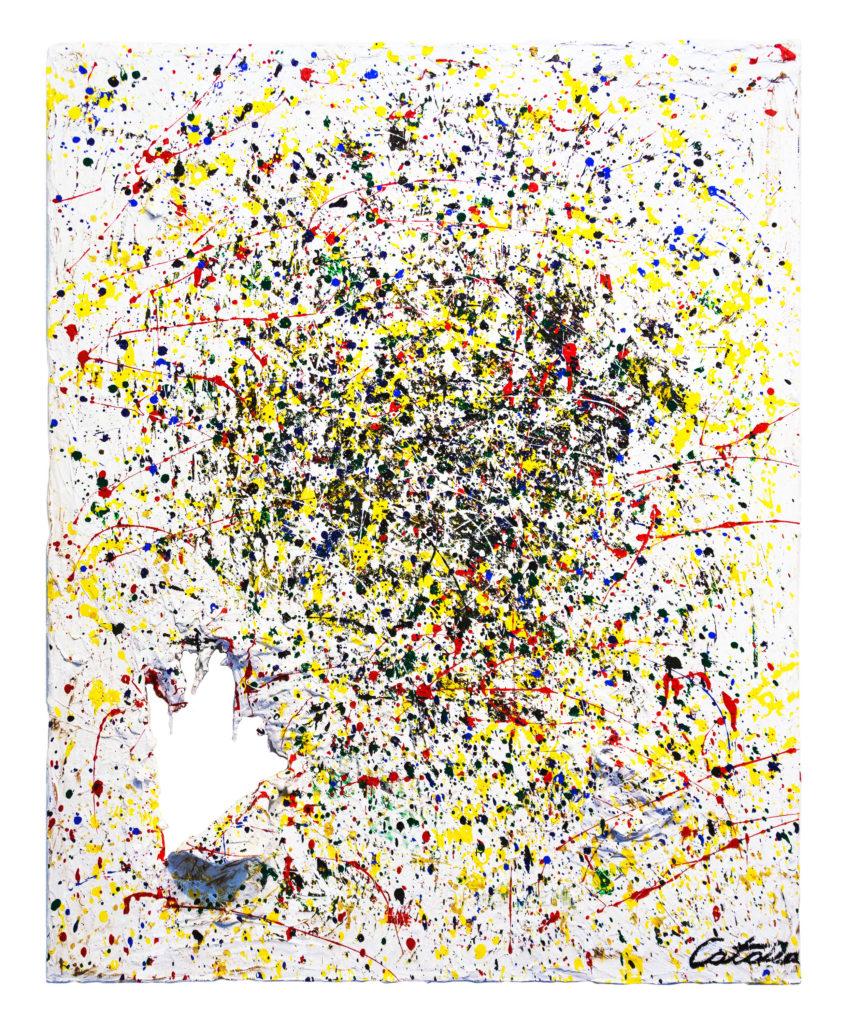 撕裂 -艺术家 凯撒·卡塔尼亚 的 当代艺术 画作