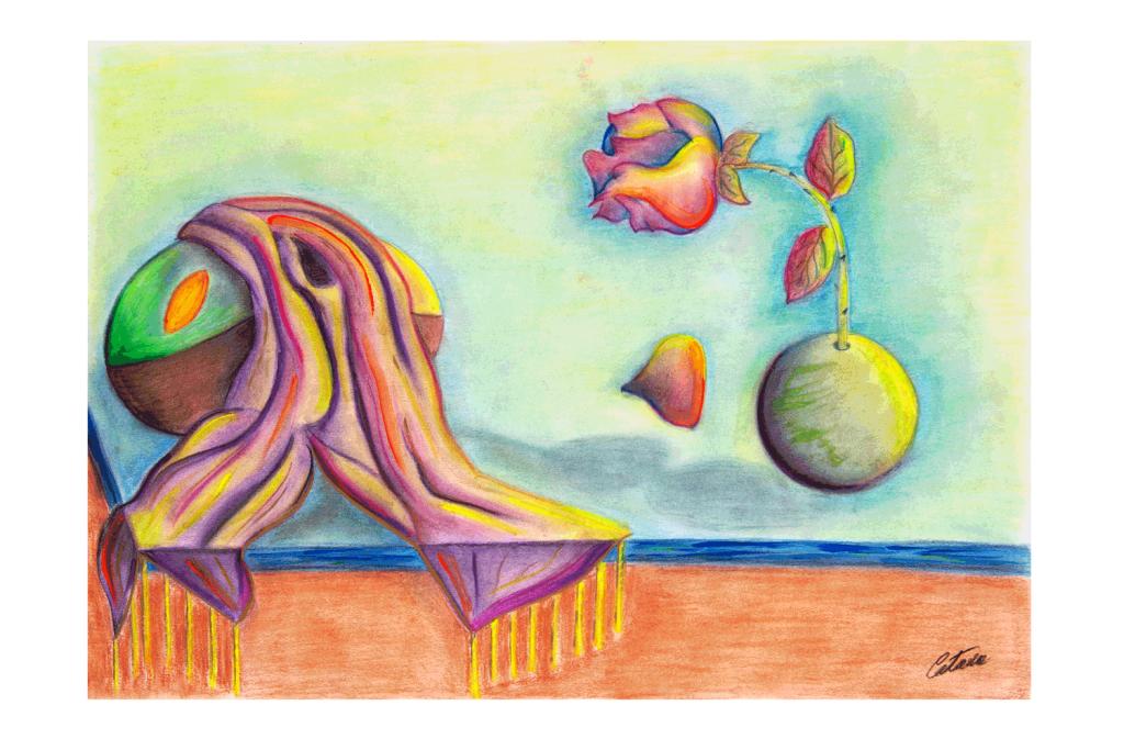 运动动态 A 版本 - 当代艺术家 凯撒·卡塔尼亚 的 当代艺术 画作
