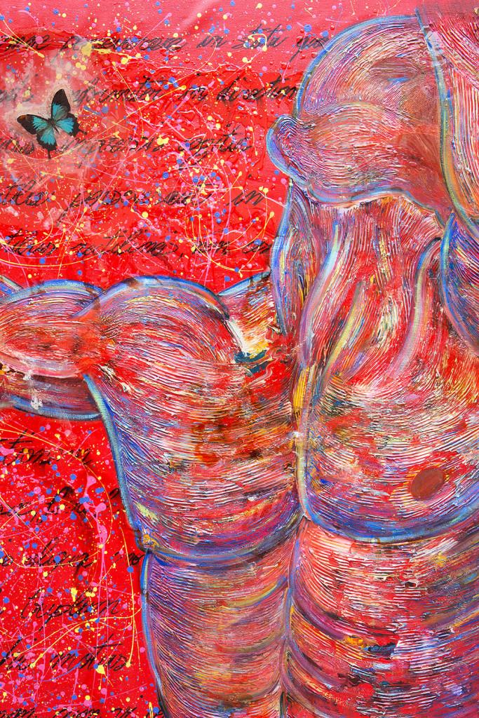 L'Autoritratto (omaggio a Newton e a Michelangelo) è un dipinto di arte contemporanea realizzato dall'artista, pittore e scultore Cesare Catania