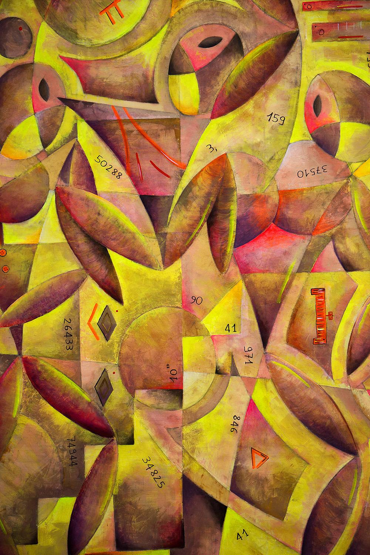 Trois Hommes è un arazzo realizzato da Cesare Catania artista contemporaneo