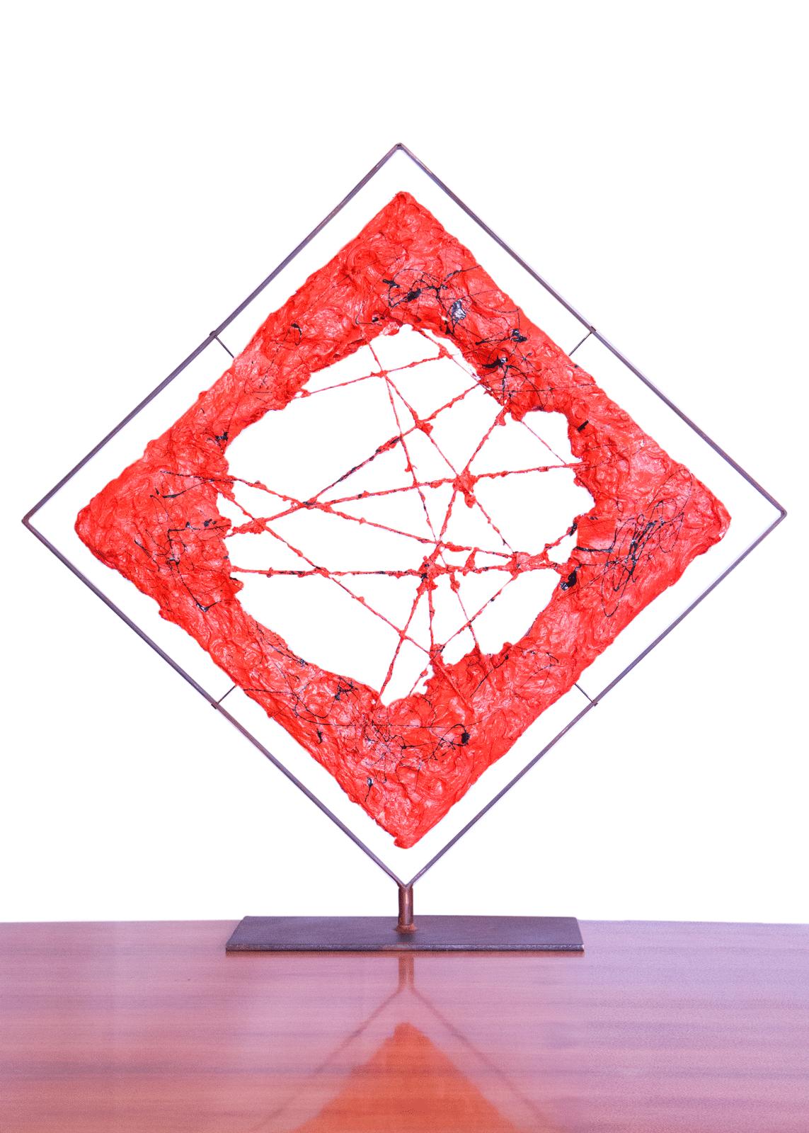 La Bocca dell'Etna B Version è una scultura di arte contemporanea realizzata da Cesare Catania