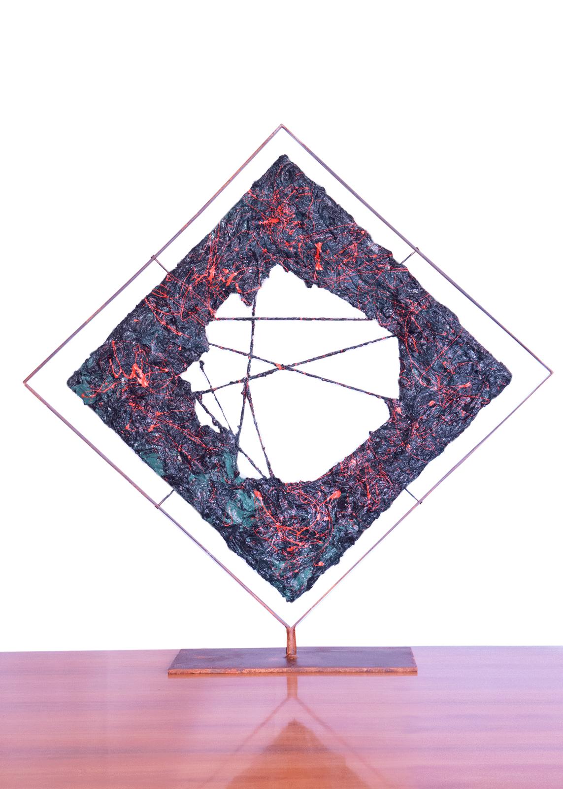 La Bocca dell'Etna C Version è una scultura di arte contemporanea realizzata da Cesare Catania