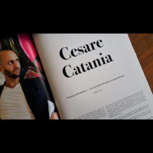 """Cesare Catania viene soprannominato dalla critica """"il moderno Leonardo Da Vnci"""""""