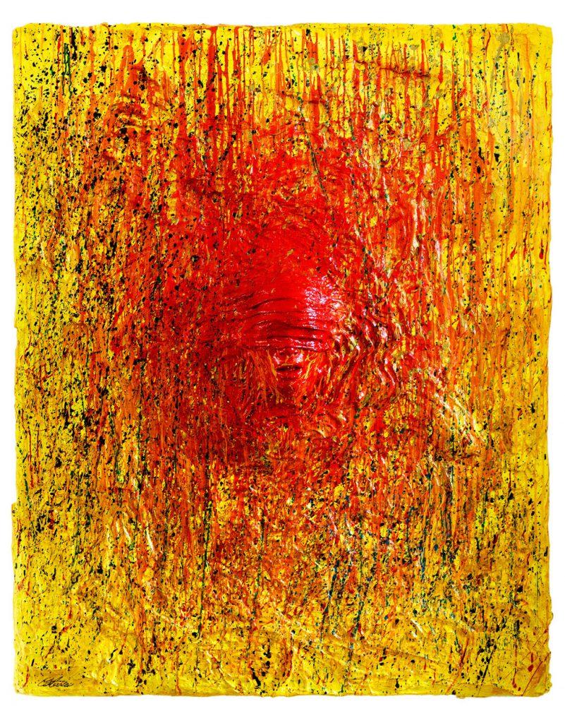 L'uomo che non Vede - immagine Full - Scultura di arte contemporanea dell'artista italiano Cesare Catania