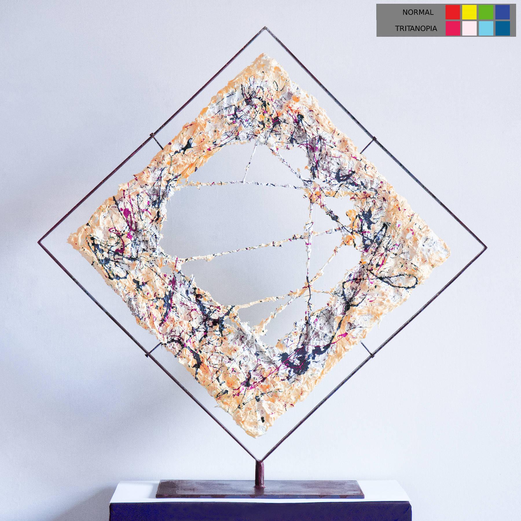 Visione dell'opera d'arte per gli affetti da tritanopia