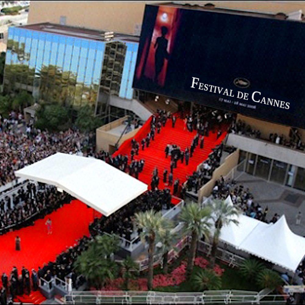 Mostra d'arte di Cesare Catania durante il Festival del Cinema di Cannes