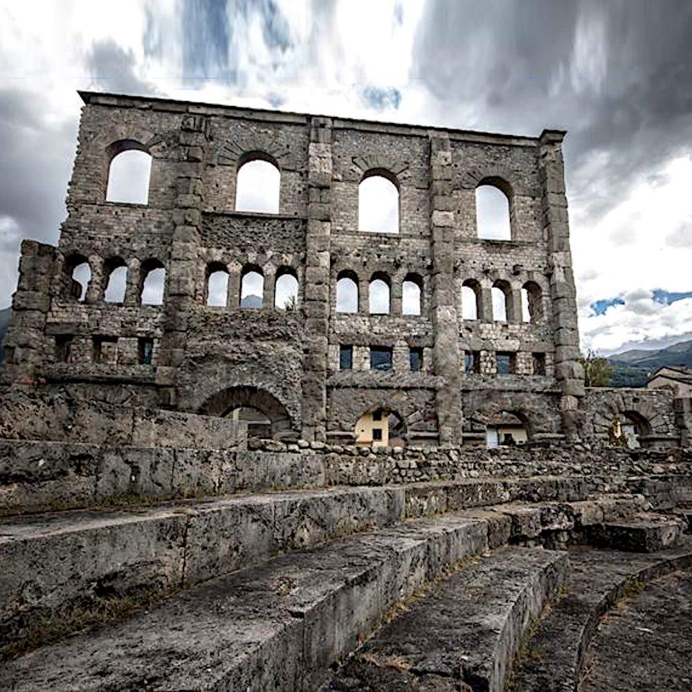 Mostra di Cesare Catania ad Aosta